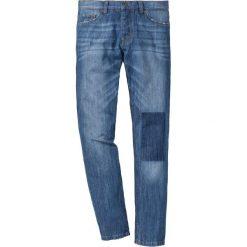 """Dżinsy Regular Fit Tapered bonprix niebieski """"used"""". Jeansy męskie marki bonprix. Za 54.99 zł."""