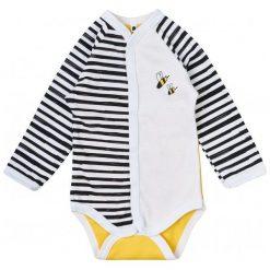Garnamama Dziecięce Body W Paski Z Pszczółką, 80, Żółto/Białe. Białe body niemowlęce Garnamama, w paski. Za 33.00 zł.