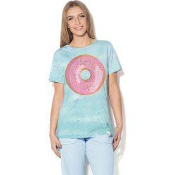 Colour Pleasure Koszulka CP-030  69 błękitna r. XL/XXL. T-shirty damskie Colour Pleasure. Za 70.35 zł.