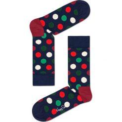Happy Socks - Skarpetki Big Dot. Czarne skarpety damskie Happy Socks, z bawełny. W wyprzedaży za 29.90 zł.