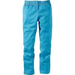 Legginsy dżinsowe bonprix turkusowy XXL. Jeansy dla dziewczynek bonprix. Za 21.99 zł.
