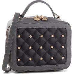 Torebka MONNARI - BAG2620-019 Grey With Black. Czarne torebki do ręki damskie Monnari, ze skóry ekologicznej. W wyprzedaży za 169.00 zł.