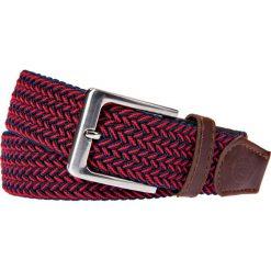 Pasek Czerwony Pleciony Braid. Czerwone paski damskie LANCERTO, w paski, z bawełny, casualowe. Za 89.90 zł.