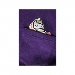 Wybierz kolor bluza kieszonka jednorożec holo. Białe bluzy damskie One mug a day, melanż, z bawełny. Za 159.00 zł.
