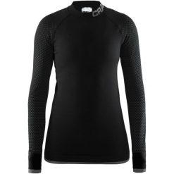 Craft Koszulka Warm Intensity, Czarna, L. Czarne koszulki sportowe damskie Craft, z długim rękawem. Za 225.00 zł.