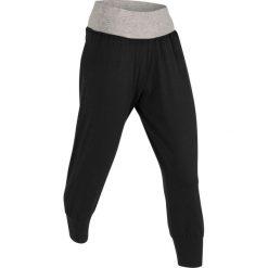 Spodnie haremki, dł. 3/4, Level 1 bonprix czarny. Spodnie materiałowe damskie marki WED'ZE. Za 74.99 zł.