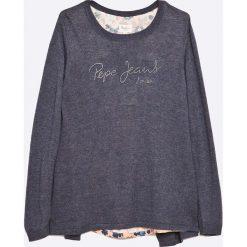 Pepe Jeans - Sweter dziecięcy 116-176 cm. Swetry dla dziewczynek Pepe Jeans, z dzianiny, z okrągłym kołnierzem. W wyprzedaży za 159.90 zł.
