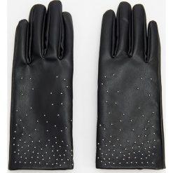 Rękawiczki - Czarny. Czarne rękawiczki damskie Reserved. Za 79.99 zł.