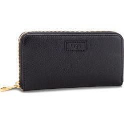 Duży Portfel Damski UGG - W Honey Zip Arnd Wallet Leather 1098634  Blk. Czarne portfele damskie UGG, ze skóry. Za 599.00 zł.