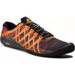 Buty MERRELL - Vapor Glove 3 J77659 Fruit Punch. Brązowe buty sportowe męskie Merrell, z materiału. W wyprzedaży za 279.00 zł.