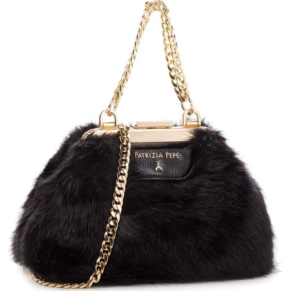 b4556aa2f0fc8 Torebka PATRIZIA PEPE - 2V8142/A1RM-K338 Soft Black - Czarne torebki ...