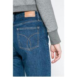 Calvin Klein Jeans - Jeansy Ankle High Rise. Szare jeansy damskie Calvin Klein Jeans. W wyprzedaży za 239.90 zł.