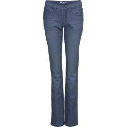 Dżinsy ze stretchem kolorowe STRAIGHT bonprix indygo. Jeansy damskie marki bonprix. Za 79.99 zł.