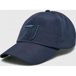 Trussardi Jeans - Czapka. Szare czapki i kapelusze męskie TRUSSARDI JEANS. Za 169.90 zł.