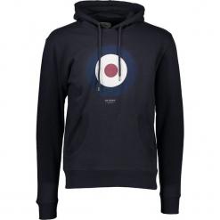 """Bluza """"Target"""" w kolorze granatowym. Niebieskie bluzy męskie Ben Sherman, z nadrukiem. W wyprzedaży za 152.95 zł."""