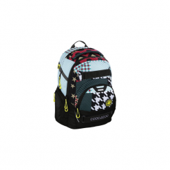 Plecak CarryLarry II, kolor: Unique Patch, system MatchPatch. Czarne torby i plecaki dziecięce HAMA, z tkaniny. Za 354.99 zł.