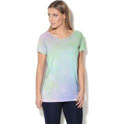 Colour Pleasure Koszulka CP-034 199 zielono-fioletowa r. XS/S. T-shirty damskie Colour Pleasure. Za 70.35 zł.
