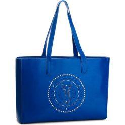 Torebka VERSACE JEANS - E1VSBBR6 70718 202. Niebieskie torby na ramię damskie Versace Jeans. W wyprzedaży za 449.00 zł.