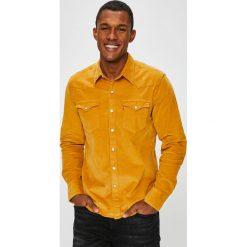 Levi's - Koszula. Brązowe koszule męskie Levi's, z bawełny, z klasycznym kołnierzykiem, z długim rękawem. Za 259.90 zł.