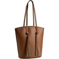 Torebka CREOLE - K10278 Brąz. Brązowe torby na ramię damskie Creole. W wyprzedaży za 249.00 zł.