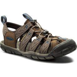 Sandały KEEN - Clearwater Cnx 1018495 Dark Earth/Blue Opal. Brązowe sandały męskie Keen, z materiału. W wyprzedaży za 269.00 zł.
