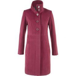 Płaszcz bonprix czerwony purpurowy. Płaszcze damskie marki FOUGANZA. Za 169.99 zł.