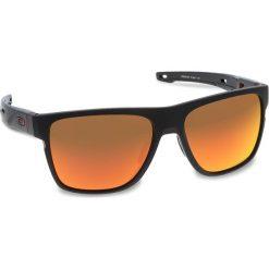 Okulary przeciwsłoneczne OAKLEY - Crossrange XL OO9360-1258 Matte Black/Prizm Ruby. Czarne okulary przeciwsłoneczne męskie Oakley, z tworzywa sztucznego. W wyprzedaży za 579.00 zł.