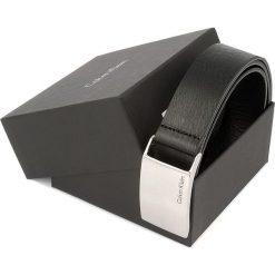 Pasek Męski CALVIN KLEIN - Mino Plaque Belt K50K500758 90 001. Czarne paski damskie Calvin Klein, w paski, ze skóry. W wyprzedaży za 179.00 zł.