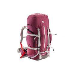 Plecak trekkingowy Easyfit 50 l damski. Fioletowe plecaki damskie QUECHUA, z materiału. Za 299.99 zł.