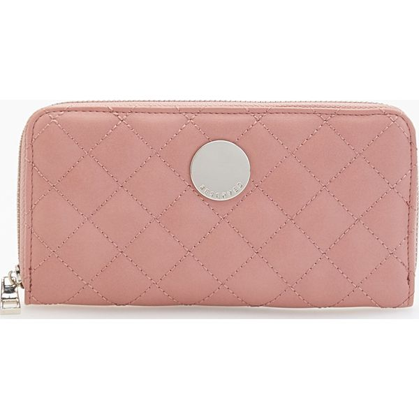 999e60920a635 Pikowany portfel - Różowy - Portfele damskie marki Reserved. W ...