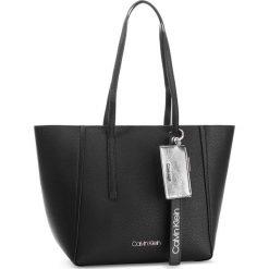 Torebka CALVIN KLEIN - Ck Base Medium Shopper K60K604427 001. Czarne torebki shopper damskie Calvin Klein, ze skóry ekologicznej. Za 649.00 zł.