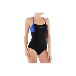 Strój jednoczęściowy do aquafitness Meg damski. Czarne kostiumy jednoczęściowe damskie NABAIJI. W wyprzedaży za 39.99 zł.
