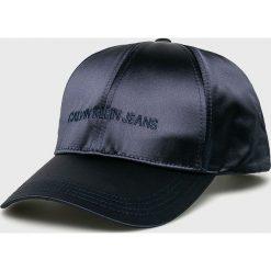 Calvin Klein Jeans - Czapka. Czarne czapki i kapelusze damskie Calvin Klein Jeans, z jeansu. Za 159.90 zł.