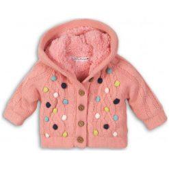 Minoti Sweter Dziewczęcy W Kolorowe Kropki 86/92 Różowy. Swetry dla dziewczynek marki bonprix. Za 99.00 zł.