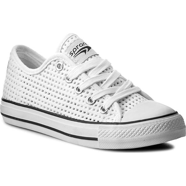 929b817a2169d Trampki SPRANDI - CP40-CZ17-1001 Biały - Trampki i tenisówki ...