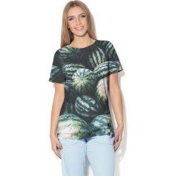 Colour Pleasure Koszulka CP-030 56 szaro-zielona r. M/L. T-shirty damskie Colour Pleasure. Za 70.35 zł.