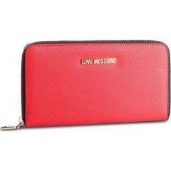 Duży Portfel Damski LOVE MOSCHINO - JC5552PP06LQ0500 Rosso. Czerwone portfele damskie Love Moschino, ze skóry ekologicznej. Za 369.00 zł.