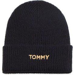 Zestaw Szalik i Czapka TOMMY HILFIGER - Effortless Knit Scarf AW0AW06002 413. Niebieskie czapki i kapelusze damskie Tommy Hilfiger, z materiału. Za 549.00 zł.