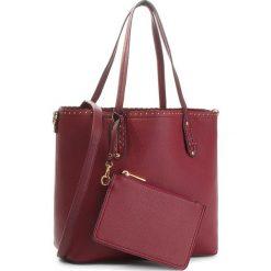 Torebka JENNY FAIRY - RC15258 Burgundy. Czerwone torebki do ręki damskie Jenny Fairy, ze skóry ekologicznej. Za 119.99 zł.