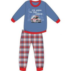 Piżama Kids Boy 593/76 Ambulance niebieska r. 92. Niebieskie bielizna dla chłopców Cornette. Za 49.87 zł.