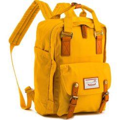 Plecak DOUGHNUT - D010-0031-F Macaroon Mustard. Żółte plecaki damskie Doughnut, z materiału. Za 349.00 zł.
