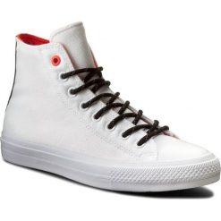 Trampki CONVERSE - Ctas II Hi 153534C White/Lava/Gum. Białe trampki męskie Converse, z gumy. W wyprzedaży za 259.00 zł.