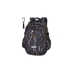 Plecak Młodzieżowy Coolpack Factor Black Marble. Czarna torby i plecaki dziecięce CoolPack, z materiału. Za 124.01 zł.