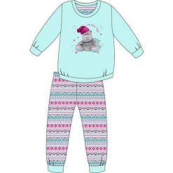 Piżama Kids Girl 594/95 turkusowa r. 128. Niebieskie bielizna dla dziewczynek Cornette. Za 49.87 zł.