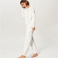 Piżama ze spodniami - Kremowy. Białe piżamy damskie Reserved. Za 129.99 zł.
