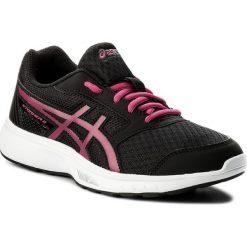 Buty ASICS - Stormer 2 Gs C811N Black/Fuchsia Purple/White 9019. Czarne obuwie sportowe damskie Asics, z materiału. W wyprzedaży za 139.00 zł.