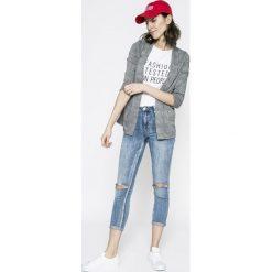 Tally Weijl - Jeansy. Niebieskie jeansy damskie TALLY WEIJL. W wyprzedaży za 79.90 zł.