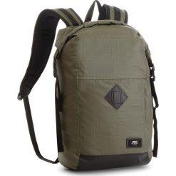 Plecak VANS - Fend Roll Top B VN0A36YJKCZ  Grape Lea. Zielone plecaki damskie Vans, z materiału, sportowe. W wyprzedaży za 169.00 zł.