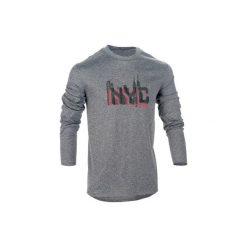 Koszulka Fast długi rękaw. Czarne bluzki z długim rękawem męskie TARMAK, z tkaniny. W wyprzedaży za 29.99 zł.