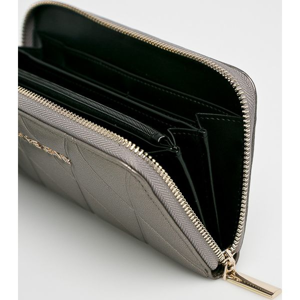 95b013f6b28b1 Versace Jeans - Portfel - Szare portfele damskie marki Versace Jeans ...